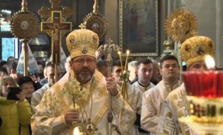 Глава Української Греко-Католицької Церкви Патріарх Святослав