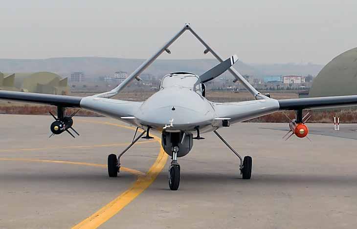 Бойовий дрон Bayraktar TB2