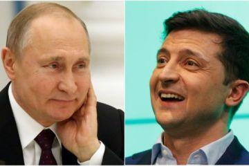 Путін Зеленський