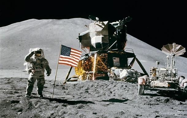"""Місія """"Аполлон"""" на Місяці"""