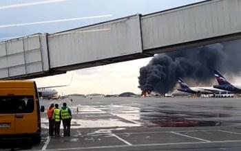 """Під час аварійної посадки літака в """"Шереметьєво"""" загинули більше десяти осіб"""