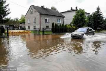 Паводок в Польщі