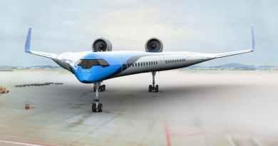 У V-подібному літаку пасажири сидітимуть в крилах