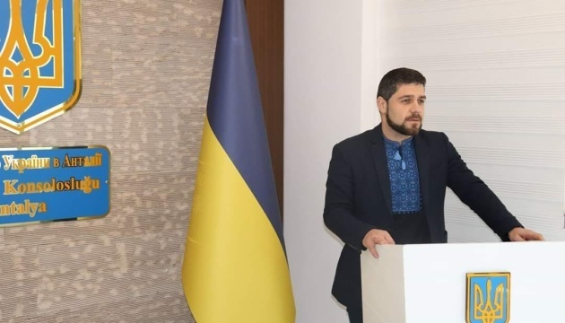 Консул України в Анталії В'ячеслав Хоменко