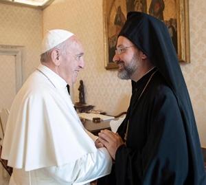 Папа Франциск і архиєпископ Йов