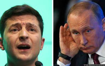 Зеленський поскаржився Путіну на російських бойовиків