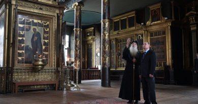 Путін у храмі старообрядців