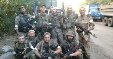 Добровольці на війні