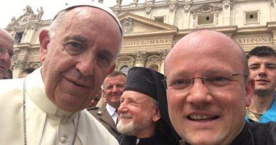 папа Римський Франциск і о. Степан Сус