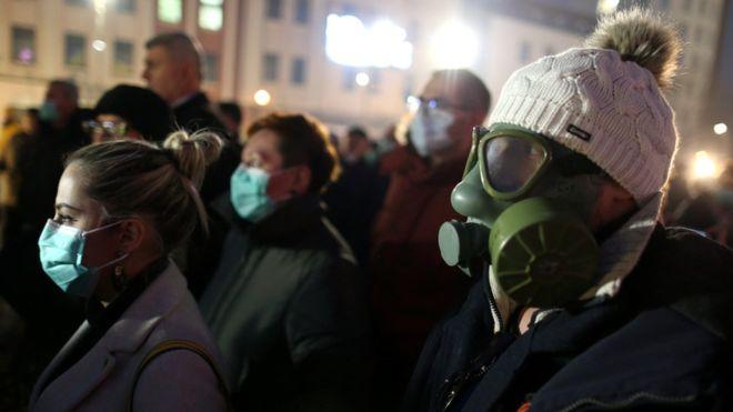 протест проти смогу