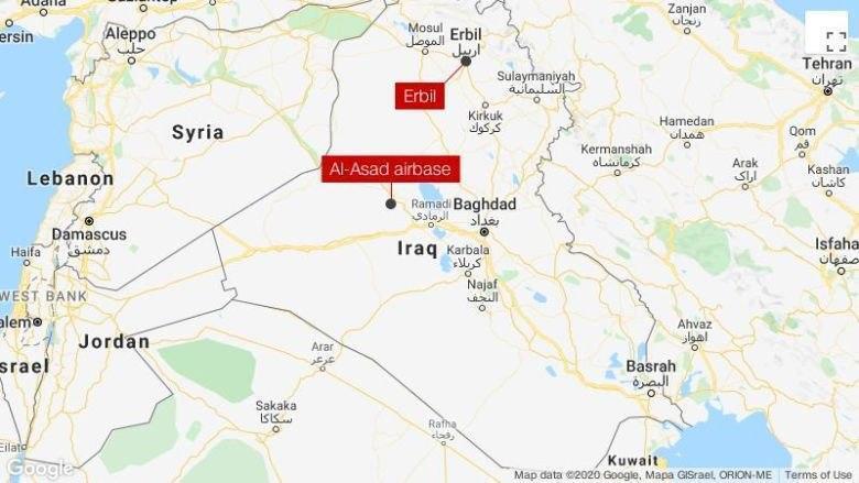 Ірак, карта