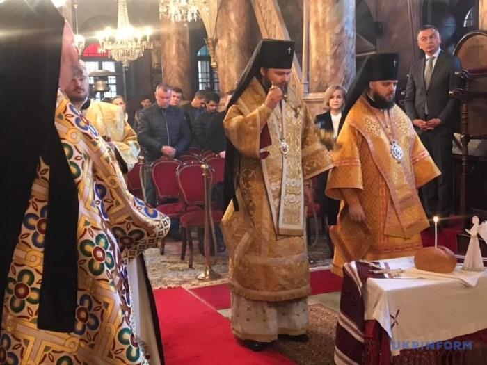 У храмі Вселенського Патріархату молились за героїв Небесної сотні