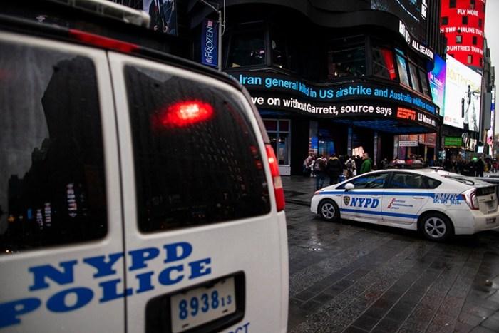 Понад 4 тис. працівників поліції Нью-Йорка заразилися коронавірусом