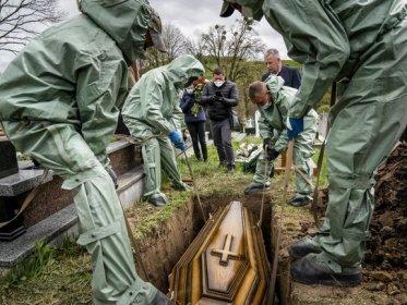 похорон померлого від коронавірусу