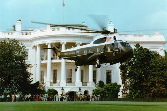 Гелікоптер президента США