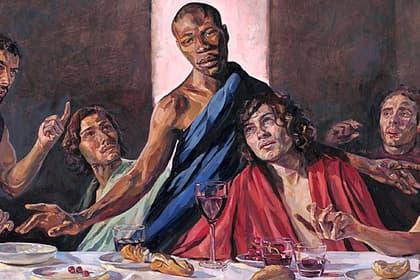 чорношкірий Ісус Христос