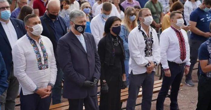 Петро Порошенко з дружиною Мариною взяли участь у ювілейній Зарваницькій прощі.