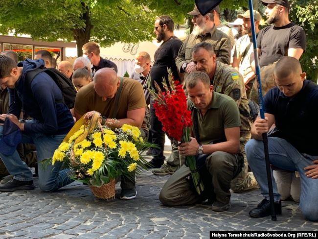 У Львові поховали комбата Андрія Гергерта