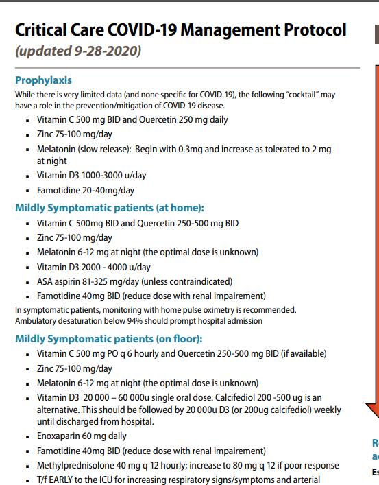 Протокол лікування коронавірусу