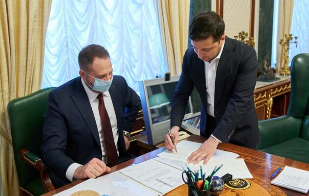 Віце-президент Єрмак привітав з перемогою Джо Байдена