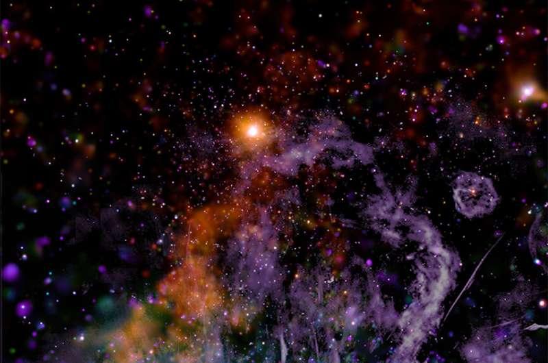 Астроном розкриває ніколи досі не бачені деталі центру Чумацького Шляху