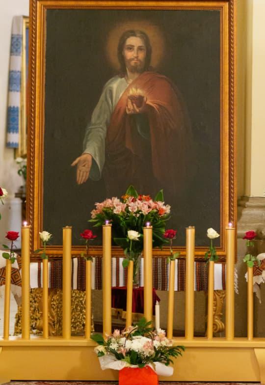 Львів'яни можуть помолитися перед іконою, написаною матір'ю Митрополита Шептицького
