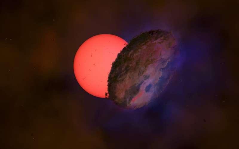 Темний гіган у центрі Чумацького Шляху