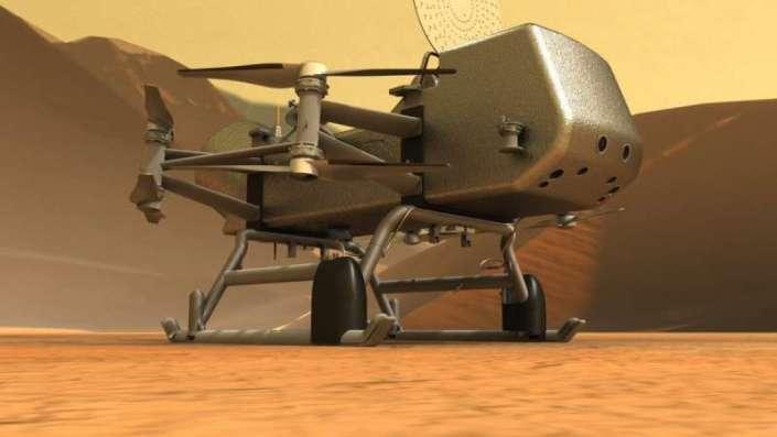 """Місія Dragonfly на Титан """"розсекретила"""" свої головні цілі"""