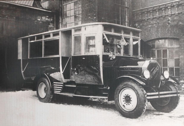 1 сентября — день рождения петербургского автобусного транспорта