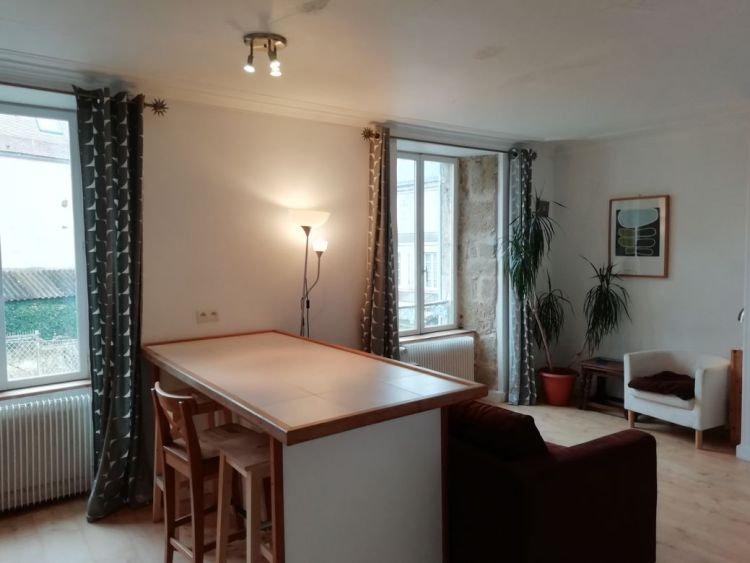 salon, appartement, Felletin, Creuse