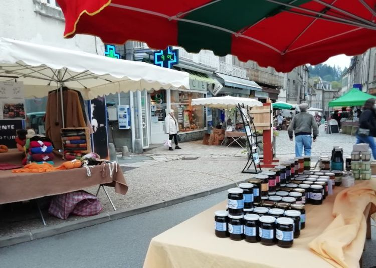 confiture marché de Felletin 9/10/2020