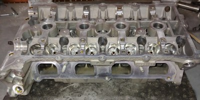 Genesis Coupe 2.0T cylinder head