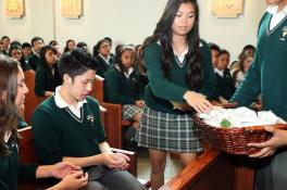 Pins distributed to Grade 11