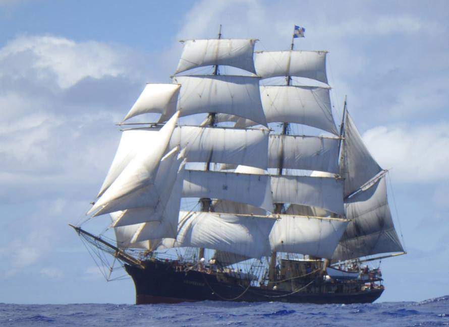 Tall Ships Are Bringing The Shock And Awe To Galveston