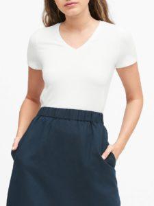 BANANA REPUBLIC レイヤリング VネックTシャツ