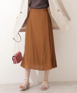 【N.Natural Beauty Basic】ラップナロースカート