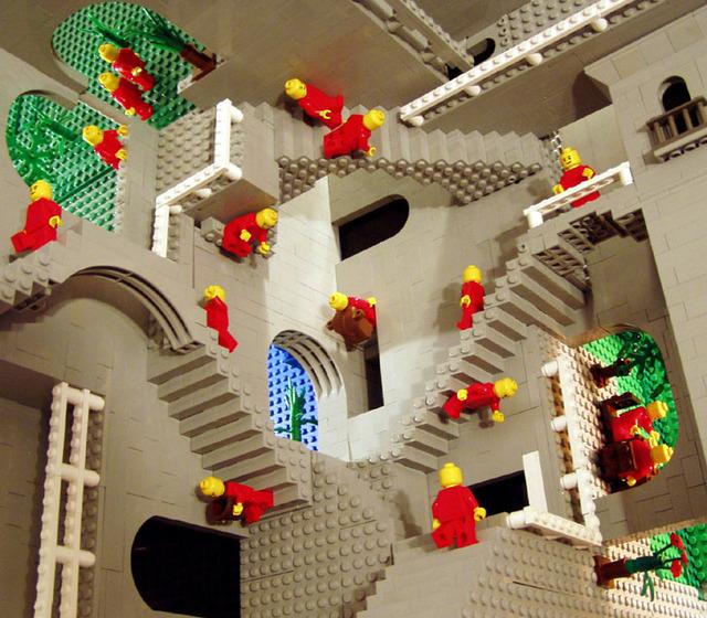Lego My Escher