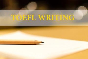 نموذج امتحان توفل - كتابة