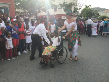People of all ability levels participated in the parade