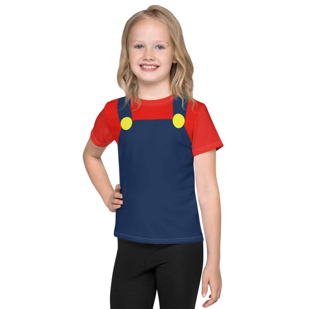 Red and Blue  Gamer Kids T-Shirt