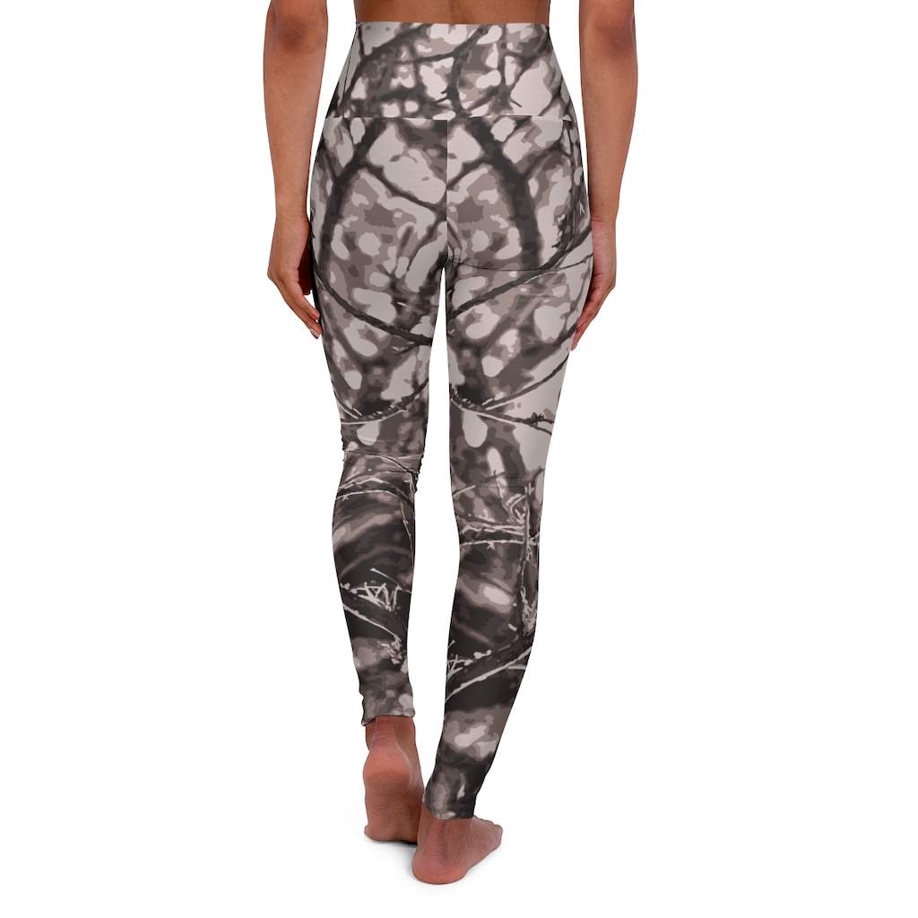 Hill Country High Waisted Yoga Leggings | Womens Camo from TGC FASHION