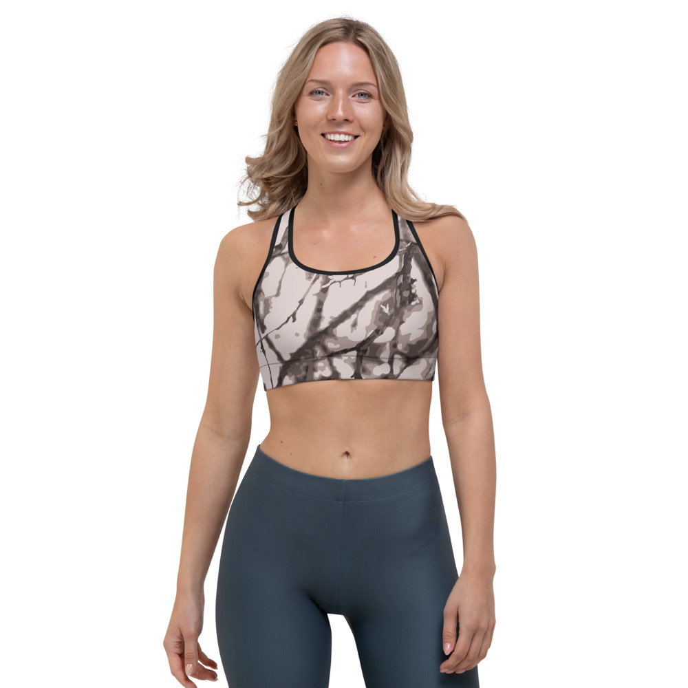 Hill Country  Camo Sports bra | Womens Activewear by TGC Fashion