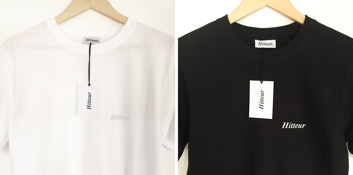 Screen printed Hitteur t-shirts