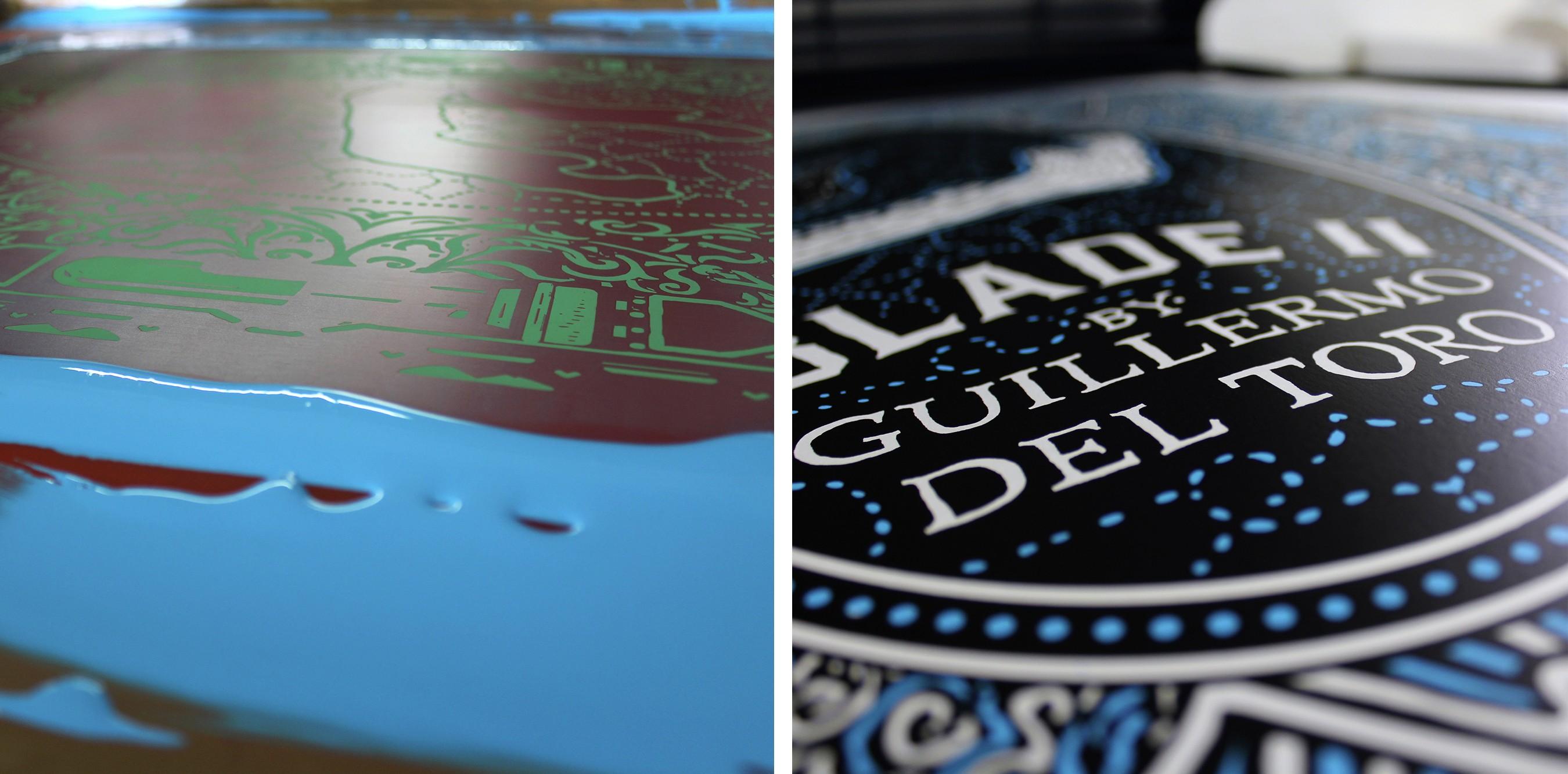 Blade II Screen Print by Pedro Oyarbide
