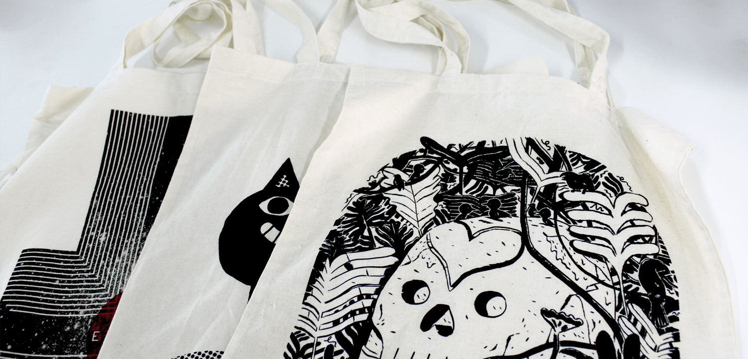 Join the Printed Tote Bag Movement
