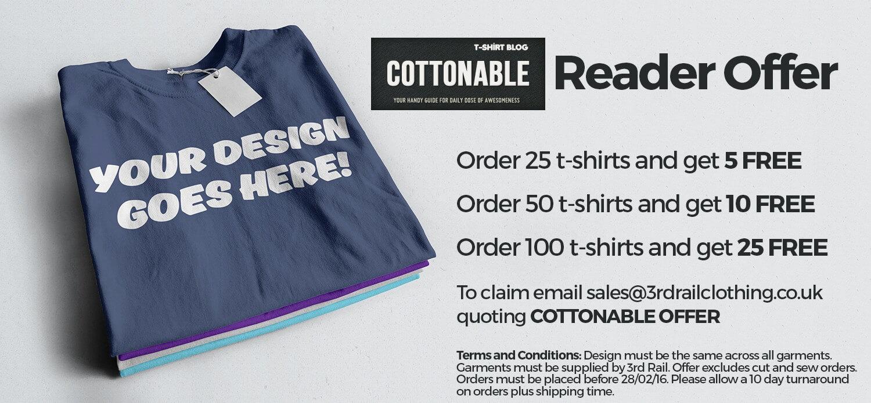 Cottonable T-Shirt Offer