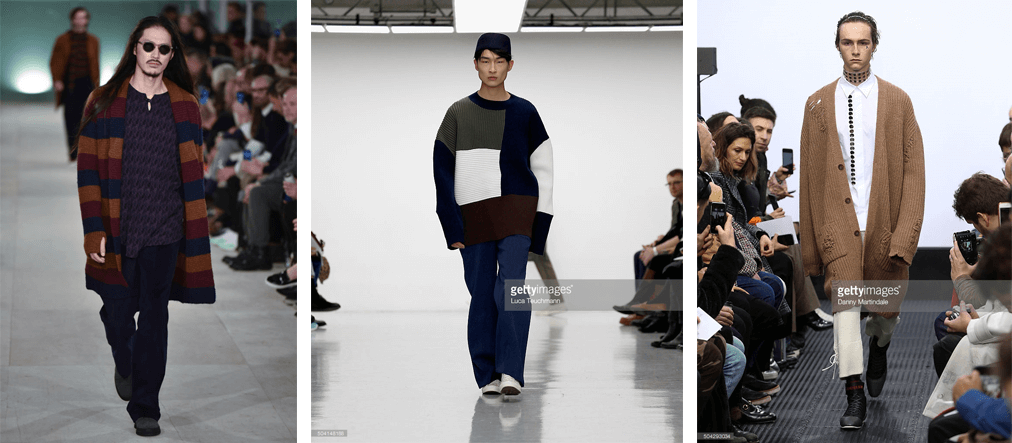 Oversize Knits at LCM AW16