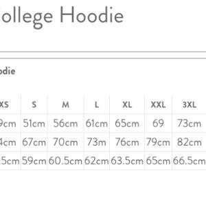 JH001 AWDis Unisex College Hoodie