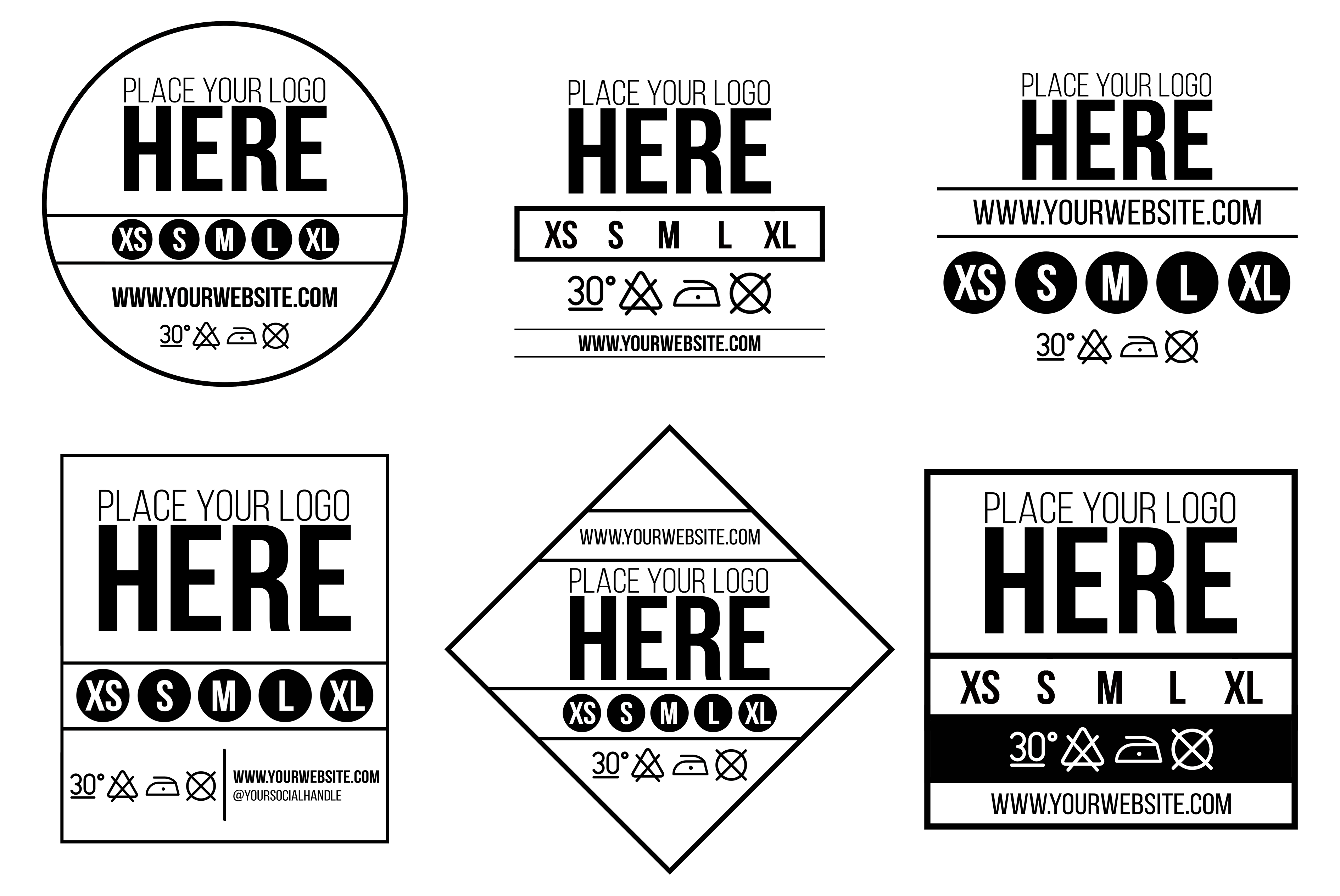 How To Use Our Free Neck Label Template 3rd Rail Clothing