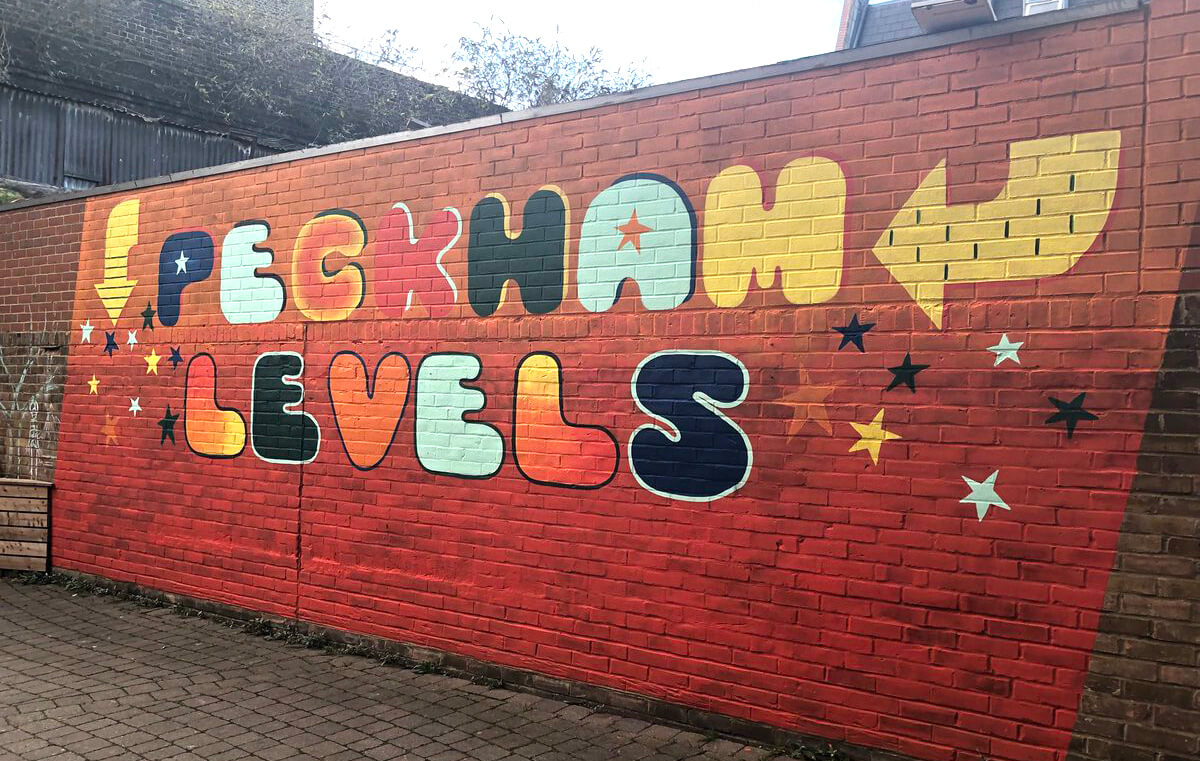 Peckham Levels Mural by Linda Scott
